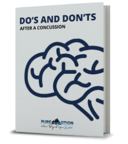 DO'S AND DONT'S AFTER A CONCUSSION